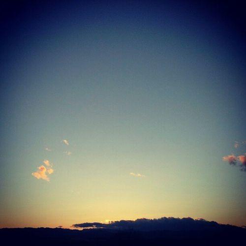 2012最後の日の入り