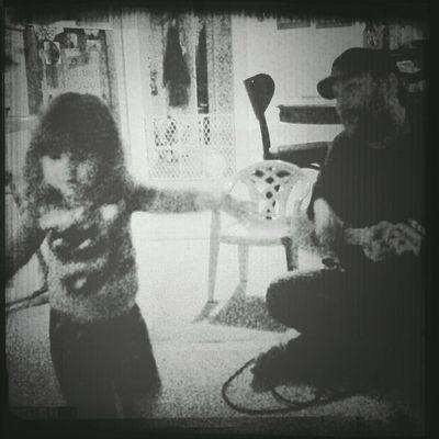 Daddy's little dancer..