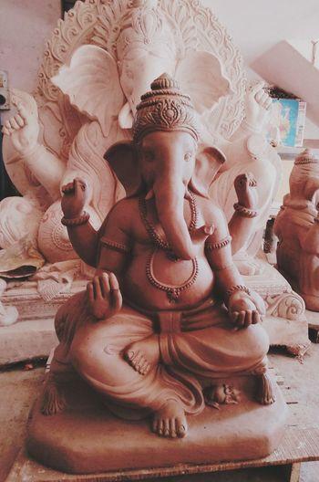 Ganesh chaturthi, festival of unity and joy India Ganeshafestival Art Evolve Beauty Evoke Joy Ganeshidol Lovelypeople EyeEmNewHere