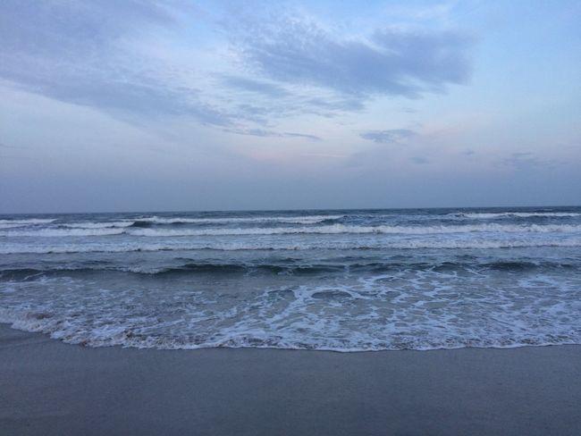 vor sonnenuntergang noch mal am strand. Elrt Rügen