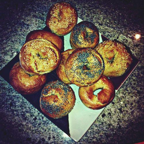 Delicious bagels