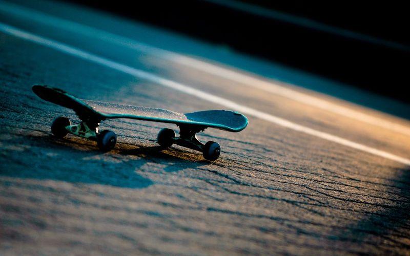 Skateboard On Street