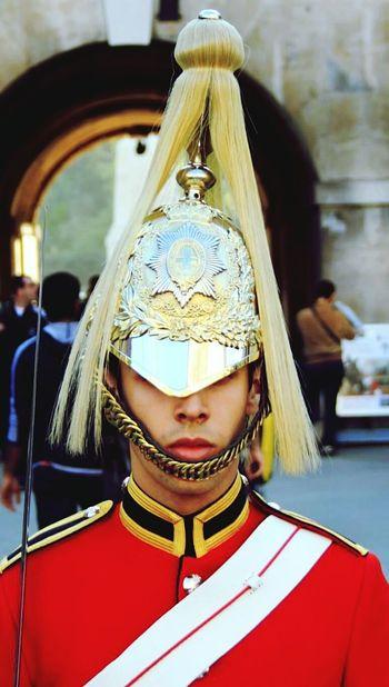 Royal Wedding Soldier Helmet Guard Royal Uniform Shiny London