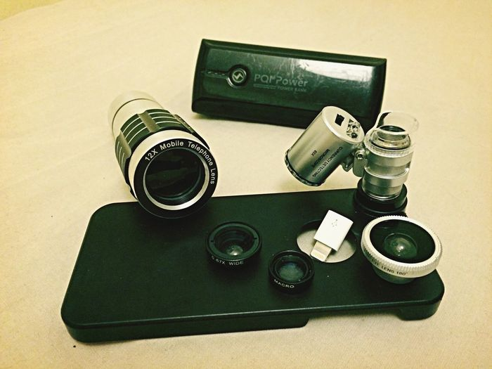 Technology I Can't Live Without Lens Collection & Powerbank for Iphone5s Onlymobilephoto