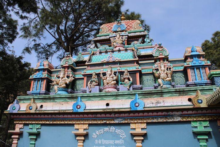 Ganesh Temple Built Structure Architecture Building Exterior Religion Building Belief Spirituality