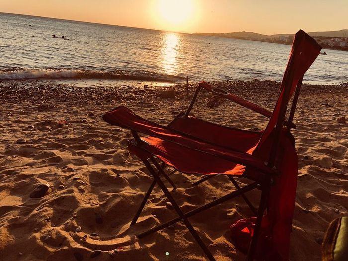 Water Sea Sunset Land Beach Sunlight Nature EyeEmNewHere