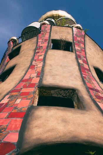 Minimalist Architecture Hundertwasserhaus Hundertwasser-Haus Abendsberg Hundertwasser Architecture