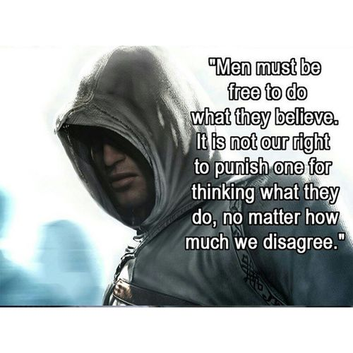 Quote of the day? Quote Assassinscreed Altair Ohtrue