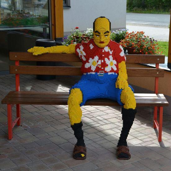 Sitting LEGO Lego Man Day