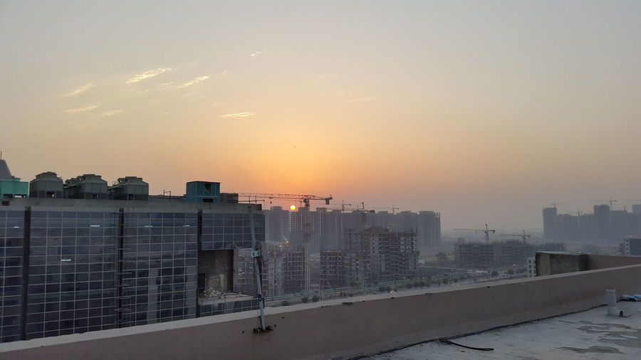 the Sunset Noida Delhi India