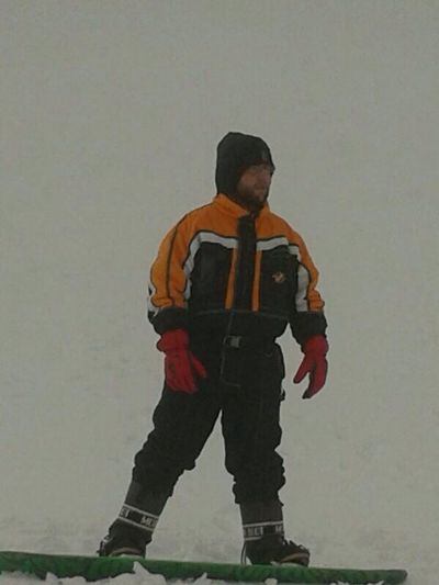 In snowboard yeah!