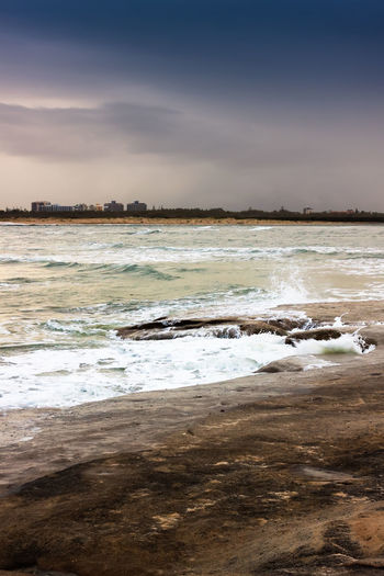 Springtime Storm Rising Australia Beach Caloundra Coastline Horizon Over Water Ocean Outdoors Queensland Remote Rippled Rock Scenics Sea Seascape Shore Storm Surf Tranquil Scene Tranquility Vacations Water Waterfront Wave