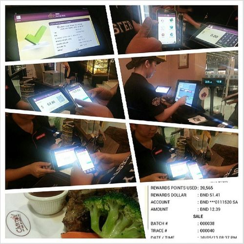 Used Bibd ETunai for the first time tonight. Doesn't get any easier folks! Just scan the QR code and click pay! Awesomeness Technology mobilepayments Brunei InstaBruDroid Andrography