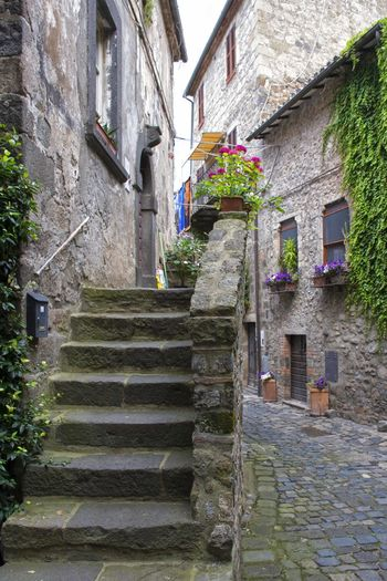 Scorcio Architecture Building Exterior Built Structure Day House Ivy No People Outdoors Photo Photographer Photography Photooftheday Popular Photos Residential Building Sky Staircase Steps Street Street Fashion Street Photography Streetphoto_color Streetphotography Tranquil Scene Travel Destinations Traveling