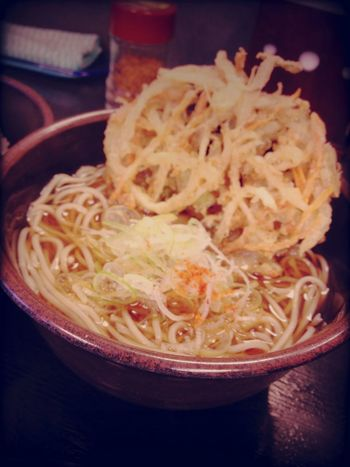 Breakfast at ゆで太郎 蒲田中央通り店 Breakfast