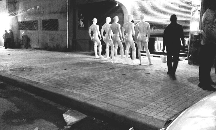 Taking Photos Nightwalk Night Night Nightphotography Blackandwhite Black & White Egypt2015 b&w photography B&w B&w Model Portrait