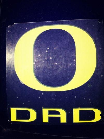 Oregon Dad Sticker