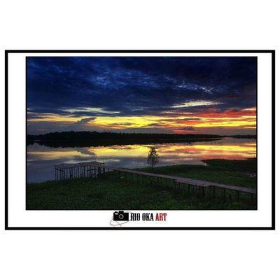 getek Landscape Sunset Photography Tembilahan indragirihilir riau
