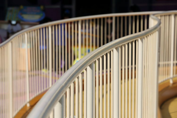Arc Close-up Day Interval No People Outdoors Radiance Railing Sunlight