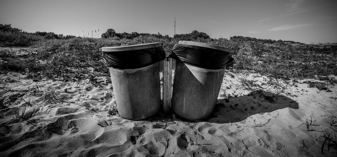 B&w Beach Beach Photography Black And White Day Environmental Issues Garbage No People Outdoors Sky EyeEmNewHere