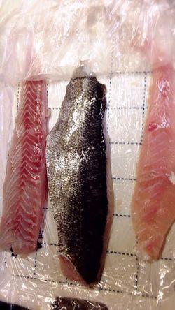 シーバスは刺身、カルパッチョ、ムニエル、あら汁に....。o♡ Fish Dinner Home Cooking