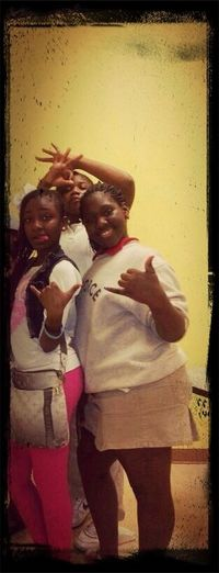 Me And Da Girls At School
