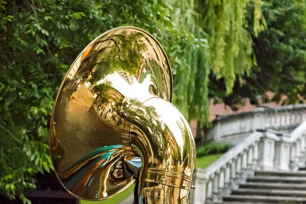 Street Photography Musical Instrument Enjoying Life 43 Golden Moments No People Close-up Tuba Playing Music Leioa  Vizcaya Spain Close Up Technology