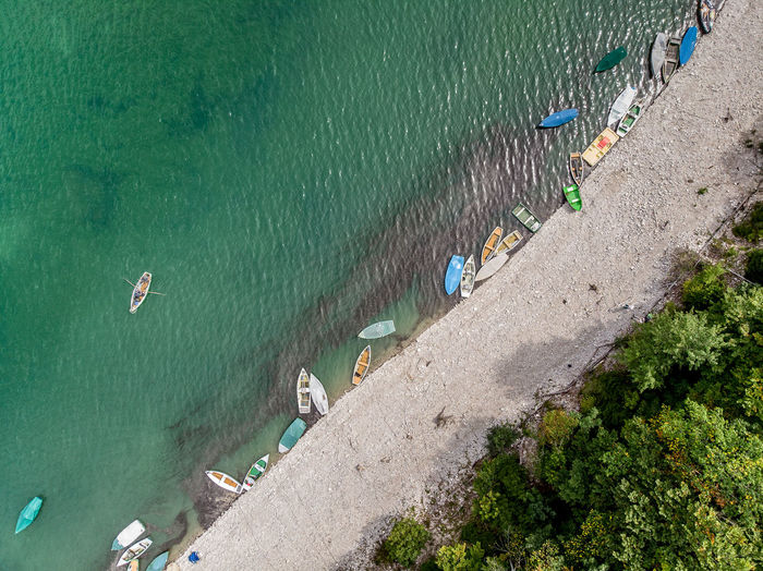 Boats Water High Angle View Lake Directly Above Dronephotography Leisure Activity Lifestyles Rowing Boat Summer Vacations Sylvensteinspeicher Land Sport Turquoise Colored Travel Destinations Mindfulness Hobbies My Best Photo