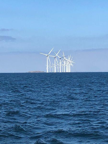 Water Sea Sky Environment Turbine Horizon Beauty In Nature