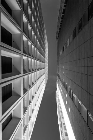 Space Jam Abstract Blackandwhite Bulding Bulding And Sky Buldings City Cityscape Focus Geometry Lines Lookingup Low Angle View Perspective Shadows & Lights Symmetrical Symmetry Vertical Lines Vertigo Zoom