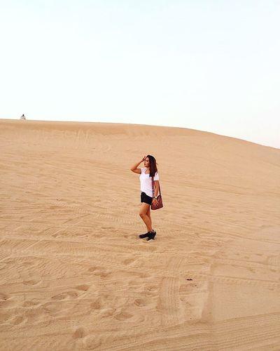 Desert Desert Sand Dune Outdoors Landscape Nature Middle East Adventure Dry Climate Orange Travel Dubai The Week On EyeEm EyeEmNewHere