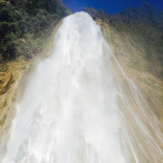 Water Waterfalls Waterfall Traveling Mexico Chiapas, México Velodenovia Cascadas