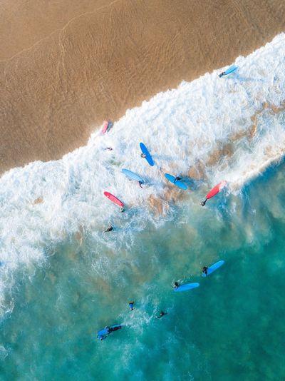 🏄🏻♂️🏄🏼♀️ in Bondi Ariel Mavic Pro Drone  Bondi Beach Beach Vacations Holiday First Eyeem Photo
