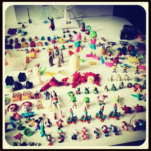 A collection of my childhood toys Of My Childhood RePicture Wealth Priceless Check This Out Childhood Memories
