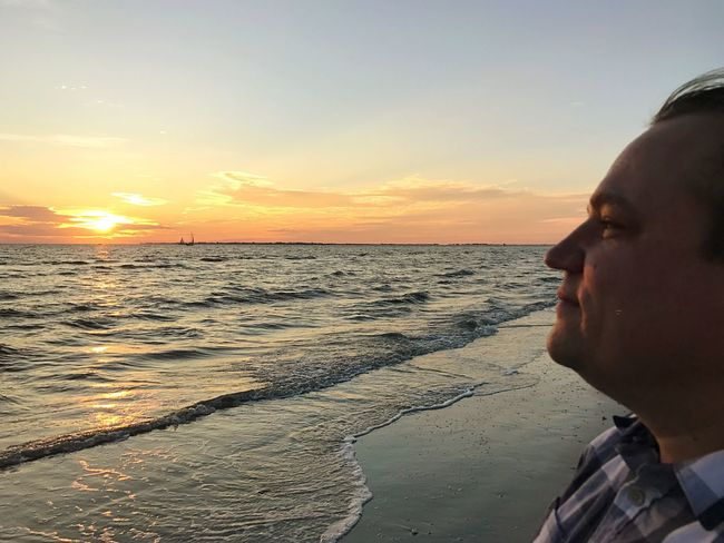 ▪️Him▪️ Sunset Sea One Person Lifestyles Beach Real People Human Body Part Leisure Activity Close-up Men Horizon Over Water Sky Outdoors One Man Only Nature Water Only Men Day People Human Hand Husband ♡ Lovemybaby Hubby ♥ Fort Myers Beach EyeEm