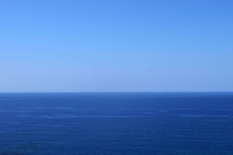 Amazing Beauty In Nature Blue Calm Check This Out Clear Sky Crete Green Horizon Horizon Over Water Nature No People Sea Seascape Traveling Travelingram Vibrant Color View Water Water Reflections Waterfront