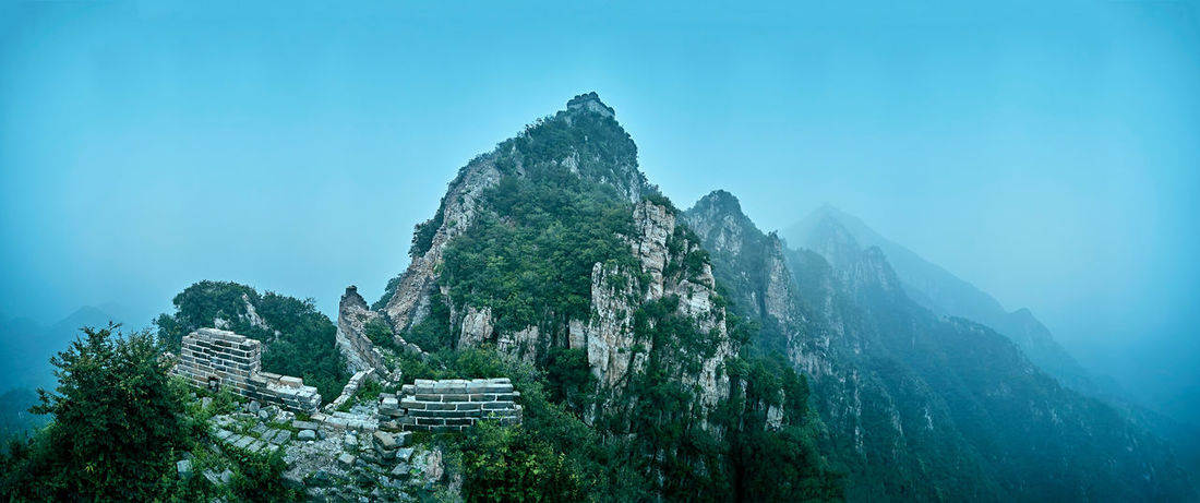 China Great Wall Summer Architecture Beijing Beijing Scenes Beijing, China China Beauty China View China Photos Daytime Great Wall Great Wall Of China Travel Beauty In Nature Brick Brick Building China Day East Asia Famous Place Mountain Nature No People Oriental Outdoors Scenics Tranquil Scene