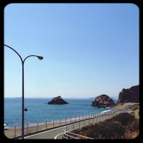Sea And Sky Blue Sky 伊良湖