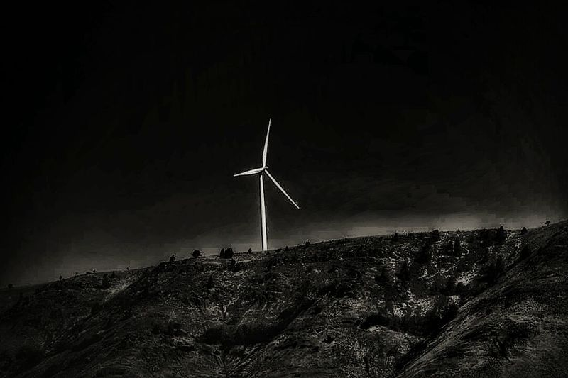 Any way the wind blows- Alternative Energy Wind Turbine Wind Power No People Night Black And White EyeEm EyeEm Gallery EyeEm Best Shots Eye4photography  Master Plan CIRCLE Of LIFETeach Me Planning For Ignition Day Doing The Work Life Places We Go Eye4photography  Itsbeenawhile... Renewable Energy TeamworkMakesTheDreamWork Eyeemvision Environmental Conservation
