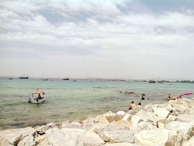 Eyeem Tunisia Sunshine Enjoying The Sun Life Is A Beach Vue Sur Mer