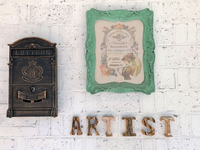 Wall Art Text Communication No People Technology Western Script Connection Green Color