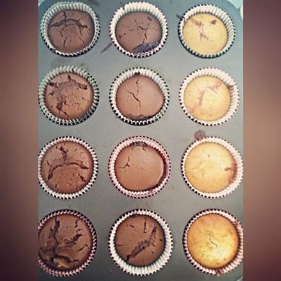3 ways Muffins Muffin Love Baking Cooking Chocolate Strawberries Orange Chocolate &orange Vanilla &strawberries VanillaMuffins Chocolatemuffins Various Yummy Fuck IT SkinnyAnyway Instapic Instameal Dessert Eat Eating