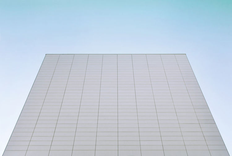 Abstract architecture Architecture Blue Building Exterior Built Structure Clear Sky Geometric Shape Modern No People Office Office Building Exterior Sky Skyscraper
