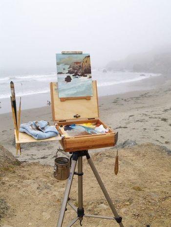 Painting çizim Deniz Kumsal Sanat