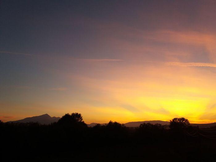 Susnet Sunset Sunsetlover Luboten Beauty In Nature Sky Mountain Day Nature Landscape Kosova