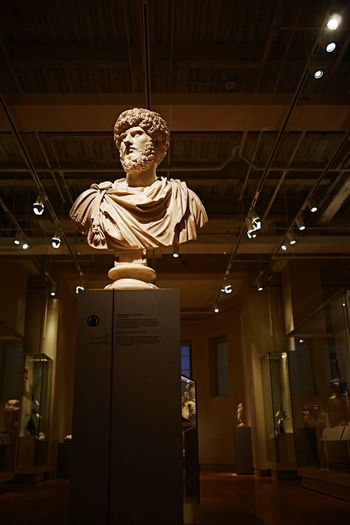 Great Emperor Lucius in the Greek Gallery. EmptyROM Toronto Torontoclx RoyalOntarioMuseum Myfujifilm ROMToronto Huffingtonpost Blogto