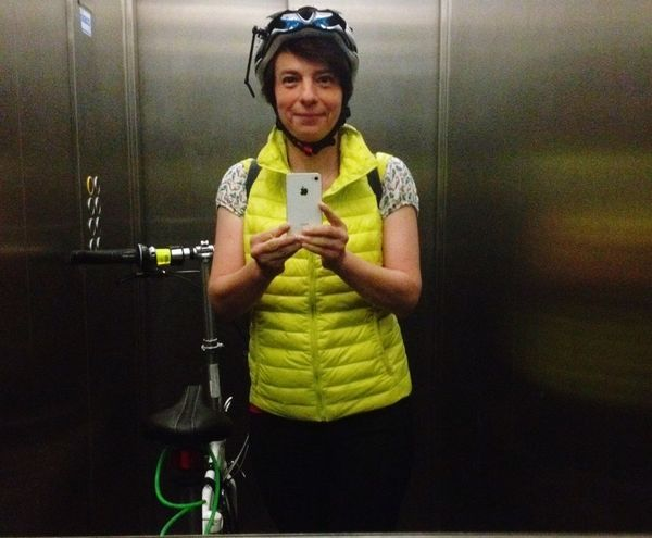 My Bike And I That's Me Self Portrait Selfie ✌ Taking Photos Mirror In The Elevator Inside The Elevator The End Of The Day Coming Back Home