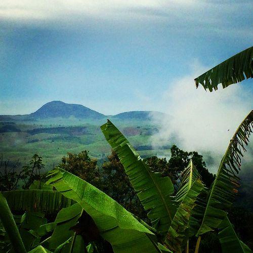 Monte Aghá visto da minha casa em Tapuio