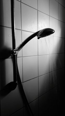 Light And Shadow Light Sunlight Sunlight And Shadow Blackandwhite Early Morning Shower Time Shower Head Shower Flow Water Black And White Spooky