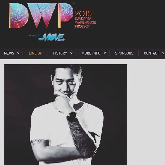 Dj Hudi in DWP15 Djakarta Warehouse Project By ITag Music By ITag Dance Music Festival By ITag Live In Concert By ITag